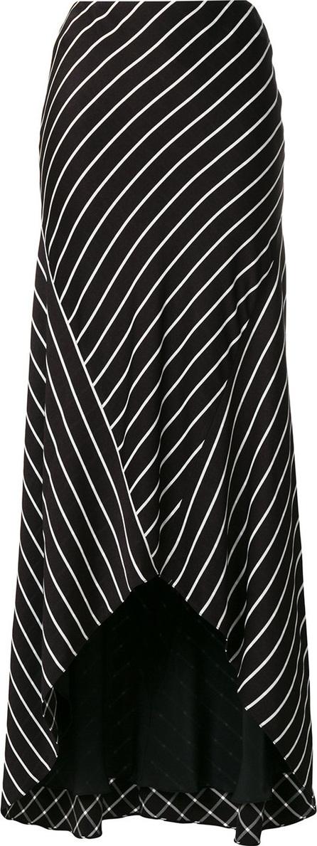Haider Ackermann Pinstripe long skirt