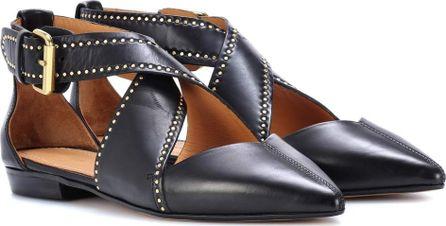 Isabel Marant. Lymoa leather ballerinas