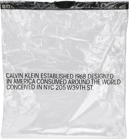Calvin Klein 205W39NYC Clear logo bag