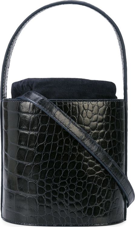Staud Crocodile texture Bisset crossbody bag