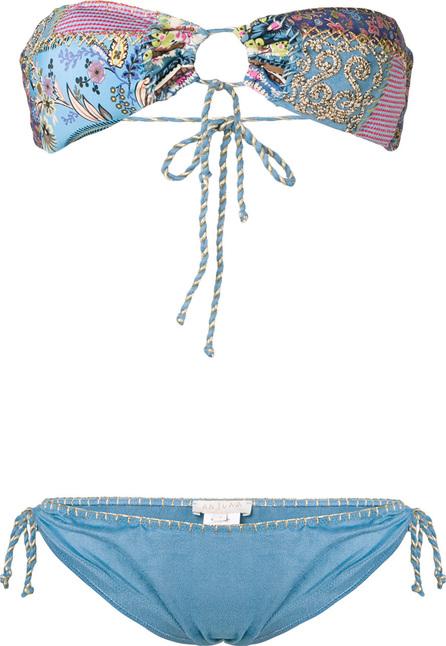 Anjuna Embroidered bikini set