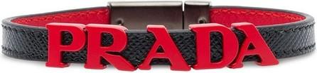 Prada Lettering logo bracelet