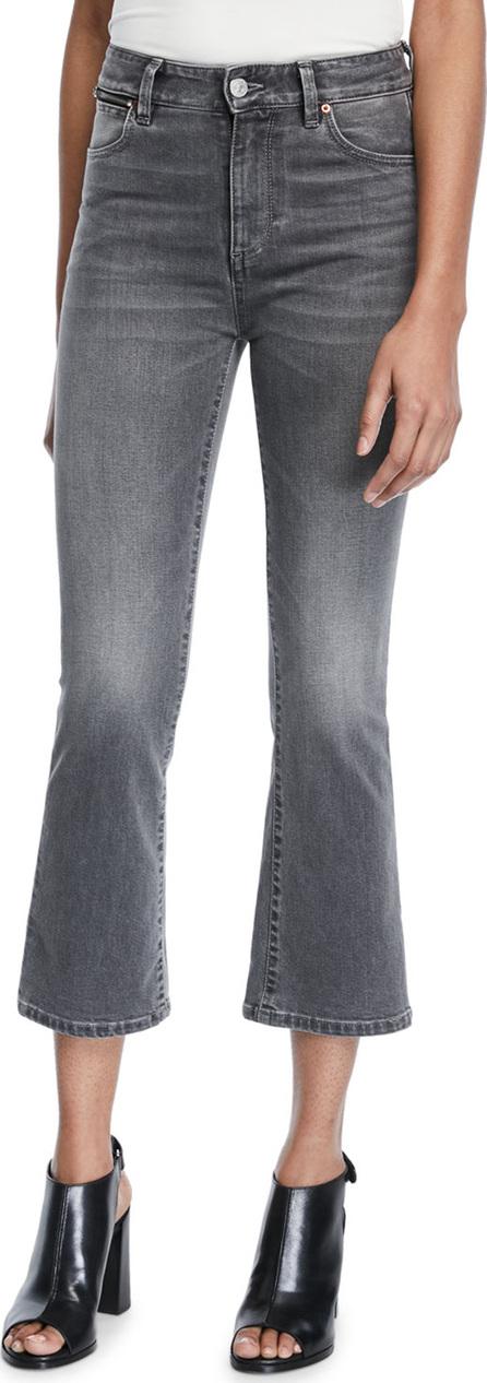 Acynetic Phoebe High-Rise Crop Mini Flare Jeans