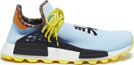 Adidas By Pharrell Williams 'SolarHu NMD' slogan embroidered Primeknit sneakers