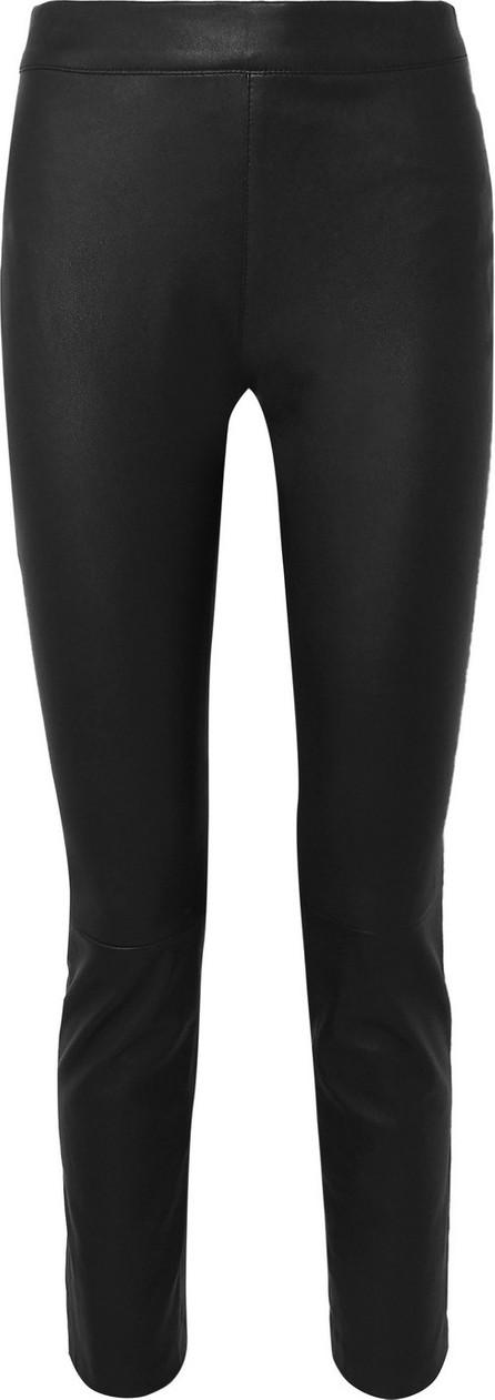 DIANE von FURSTENBERG Claudia leather slim-leg pants