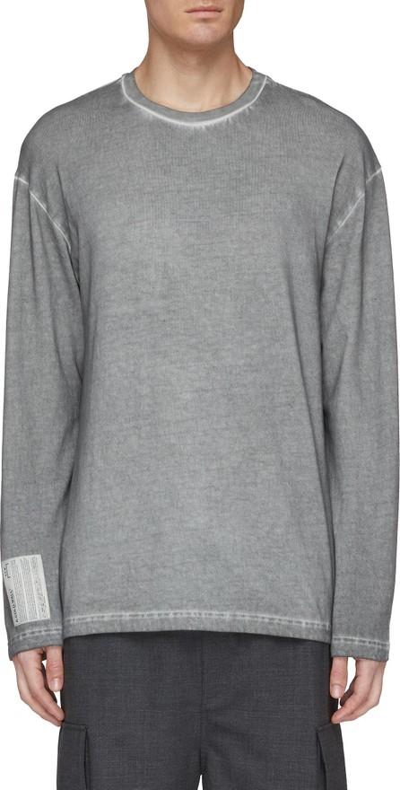 A-Cold-Wall* Logo tag long sleeve T-shirt