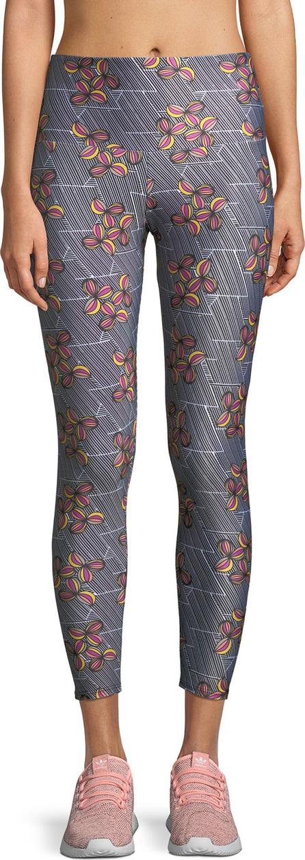 ONZIE Basic Printed High-Rise 7/8 Leggings
