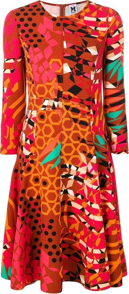 29ed091b2c M Missoni Abito Leopard-Print Lurex Midi Dress in Grey - mkt