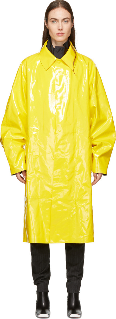 Ambush Yellow Rubber Rain Coat