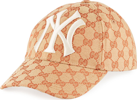Gucci NY Yankees GG Supreme Baseball Hat