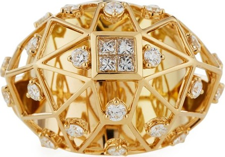 Hueb Stellar 18k Gold Diamond Ring