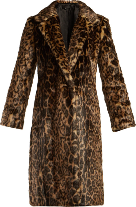 Nili Lotan Marvin leopard-print faux-fur coat