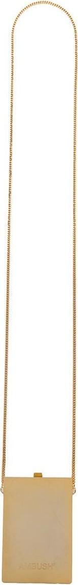 Ambush Card case pendant necklace