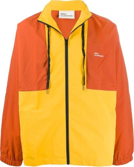 Drôle De Monsieur Colour block lightweight jacket