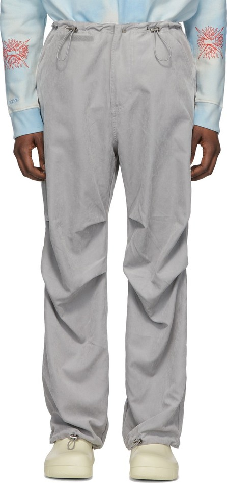 032c Grey Flap Pocket Trousers