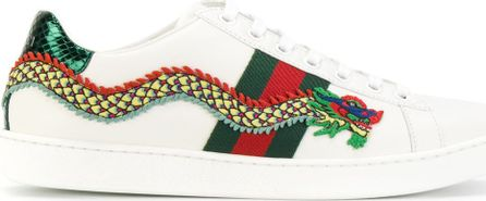 Gucci dragon low-top sneakers