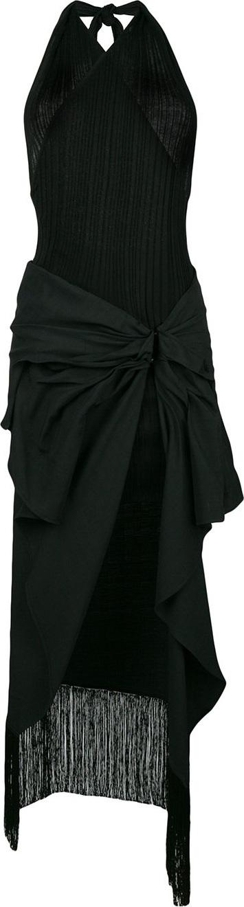 Jacquemus Layered halterneck dress