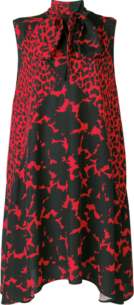 Givenchy Abstract graphic print dress
