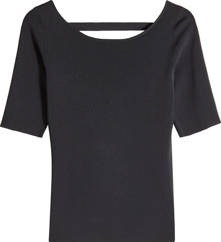Proenza Schouler Knit Top with Cut-Out Back