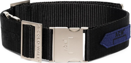 A-Cold-Wall* Black industrial webbing belt