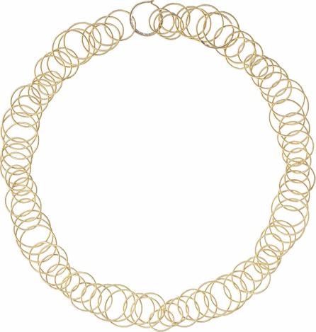 Buccellati 18k Yellow Gold & Black Onyx Short Hawaii Necklace