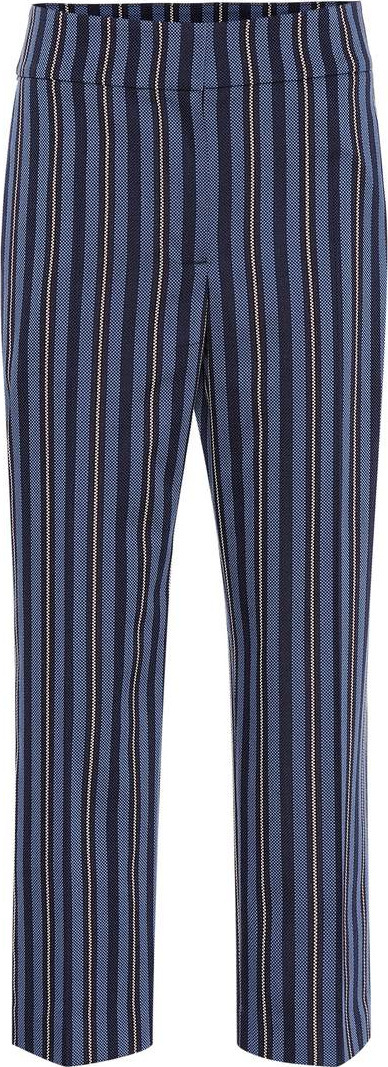 Burberry London England Striped wool-blend pants