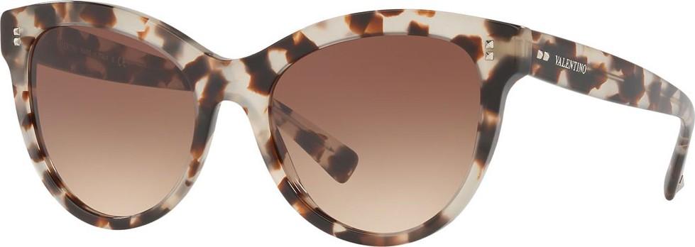 b2007128e27 Valentino Acetate Rockstud Cat-Eye Sunglasses - Mkt