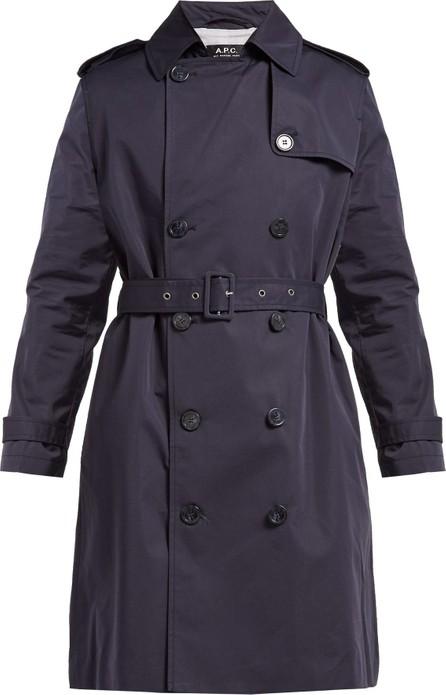 A.P.C. Josephine cotton-blend trench coat