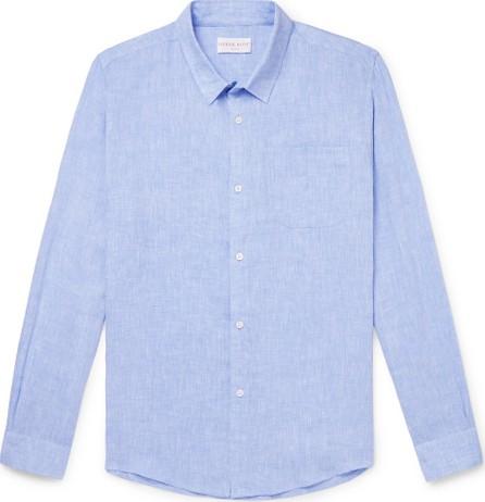 Derek Rose Monaco Slub Linen Shirt