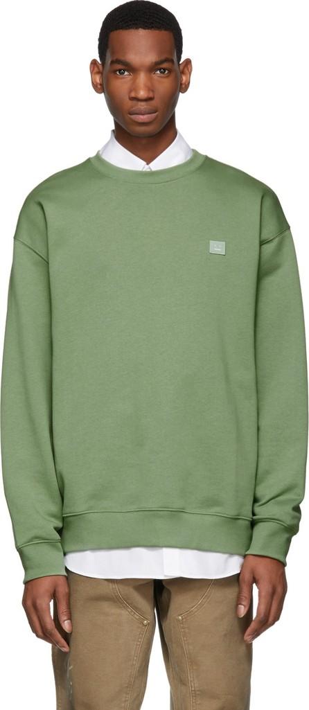 Acne Studios Green Forba Face Sweatshirt