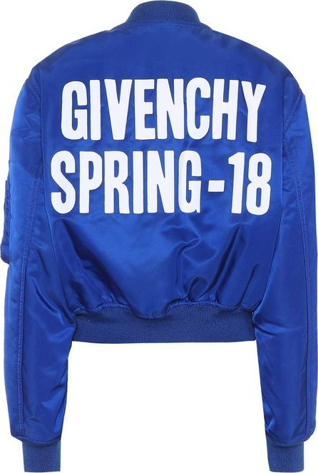 Givenchy Cropped bomber jacket