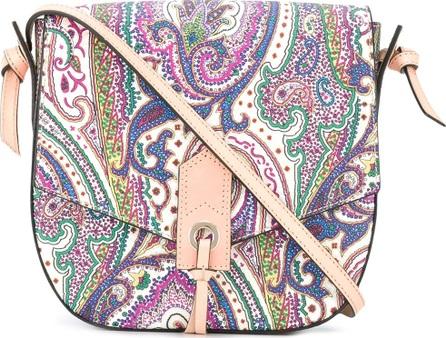 Etro paisley print saddle bag