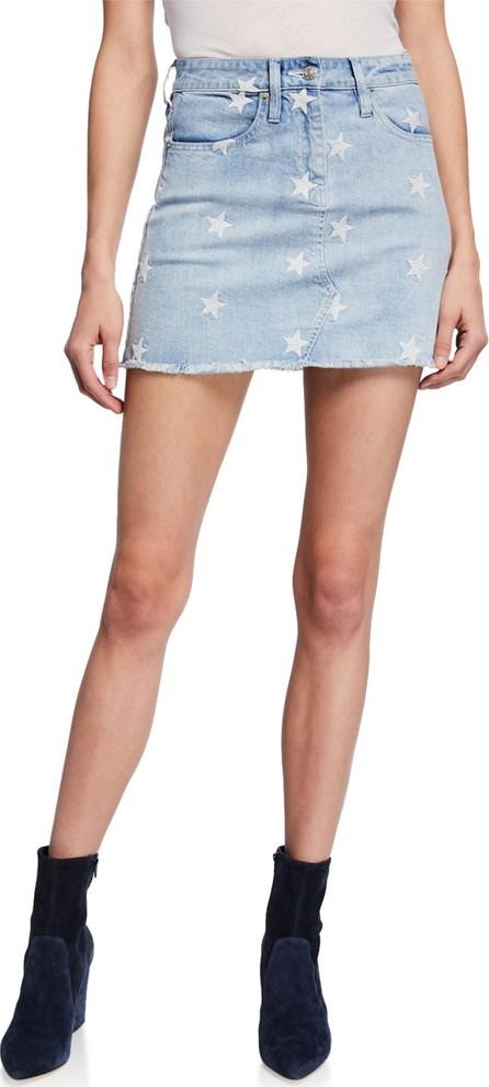 Generation Love Ingrid Stars Denim Mini Skirt