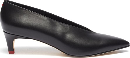 Aeyde 'Camilla' choked-up leather pumps