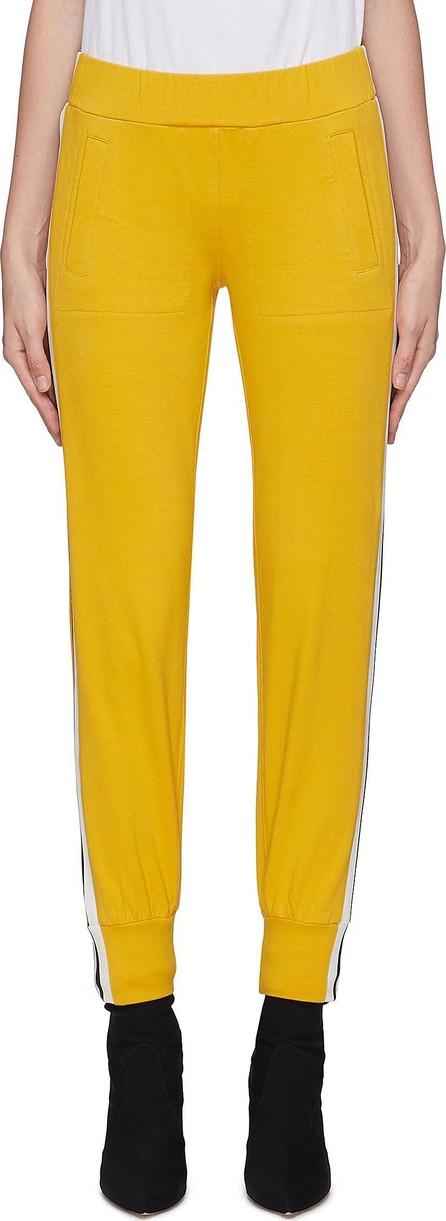 Norma Kamali Stripe outseam jogging pants