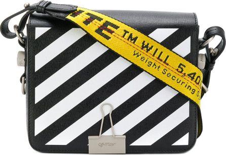 Off White Industrial tape shoulder bag