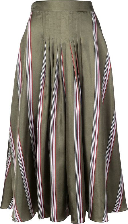 Roksanda Striped flared midi skirt