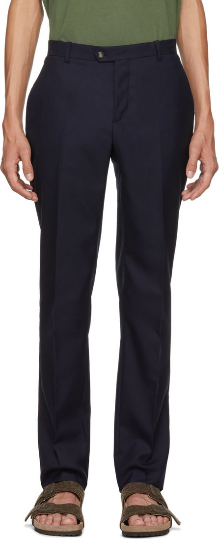 Éditions M.R Navy Remi Chino Trousers