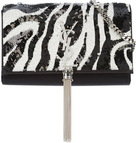 Saint Laurent Tiger Kate tassel chain wallet