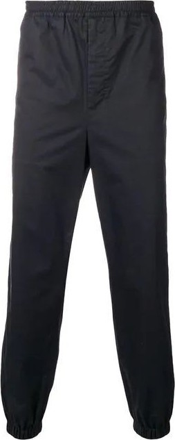 AMI Contrasting side band track pants