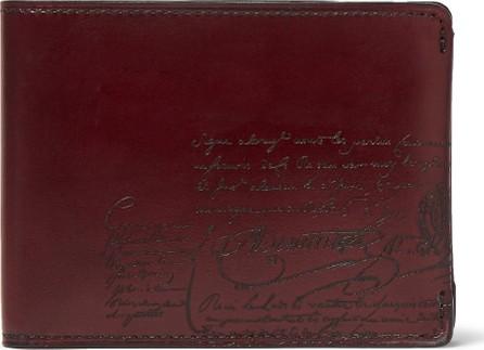 Berluti Scritto Leather Billfold Wallet