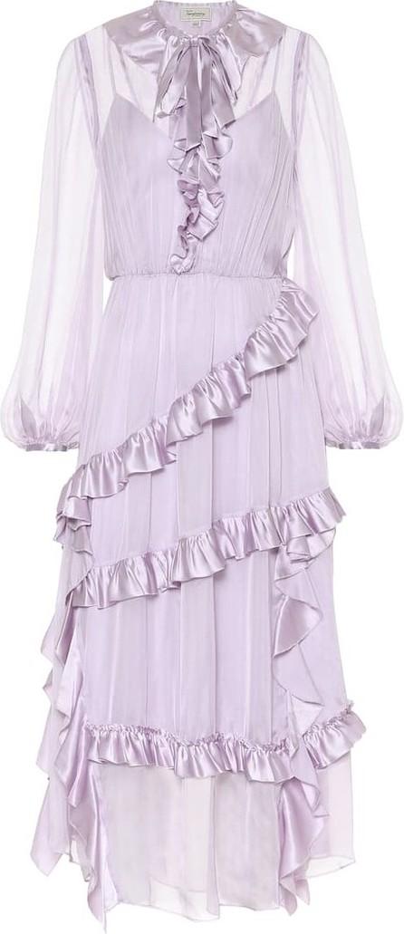 Temperley London Penny ruffled silk dress
