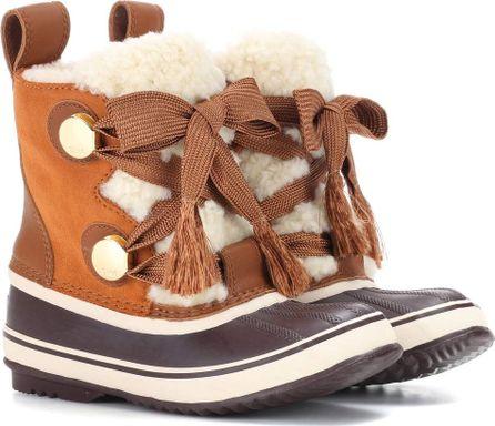 Chloe X Sorel Joan of Arctic suede boots
