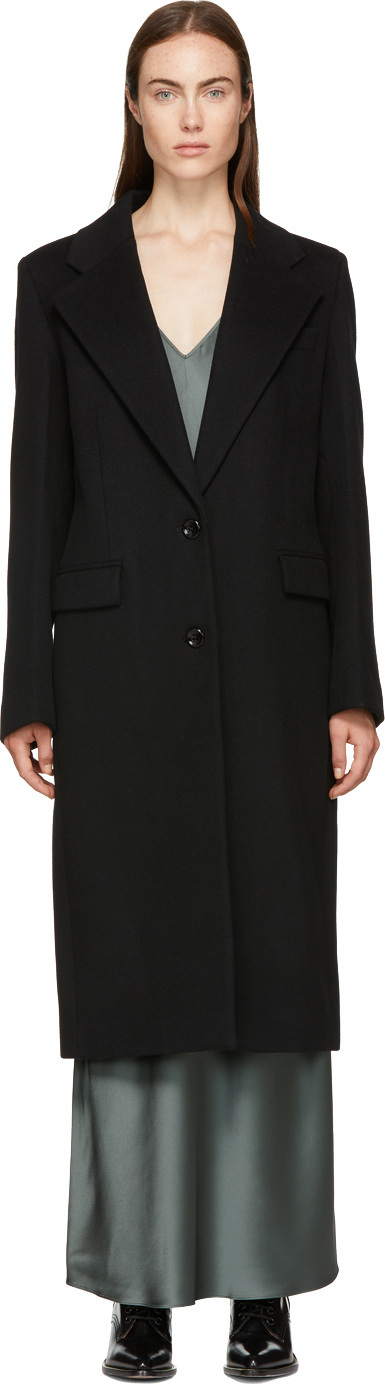 Joseph Black Magnus Straight Coat