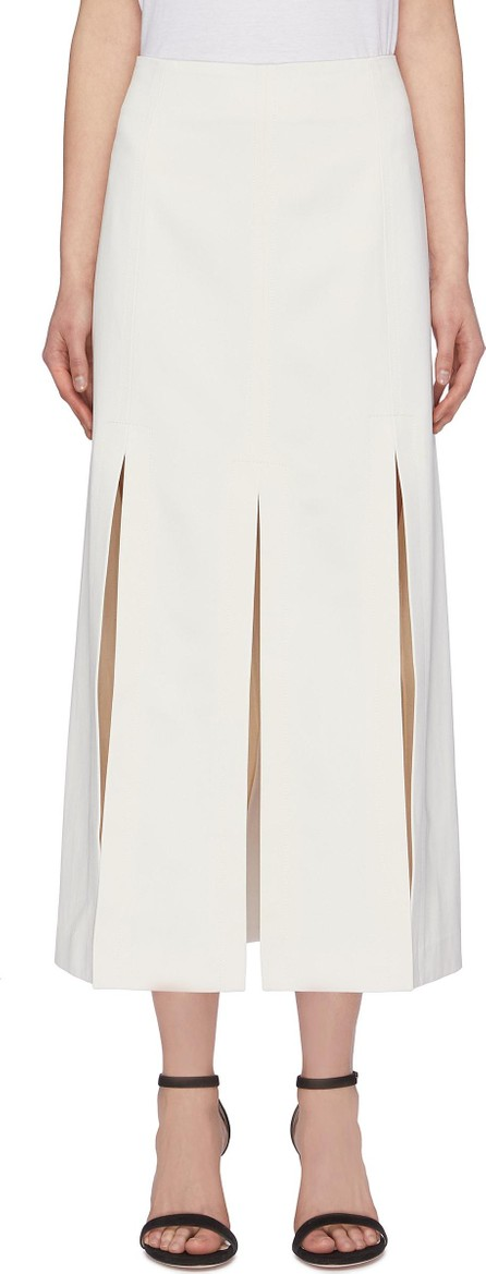 3.1 Phillip Lim Split hem sateen maxi skirt