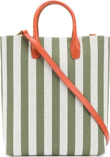 Mansur Gavriel striped shopper tote