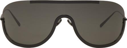 Acne Studios Black Mask Junior Sunglasses