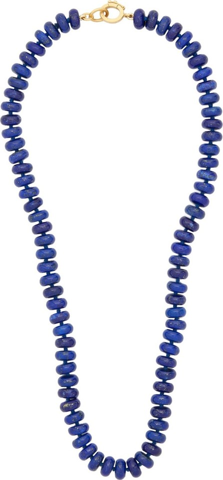 Irene Neuwirth Beaded lapis & 18kt gold necklace