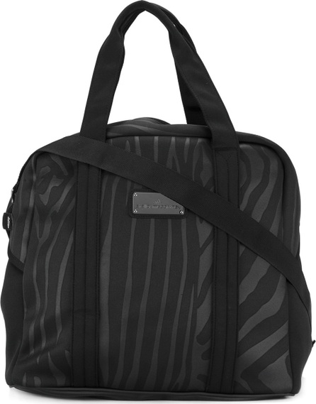 Adidas By Stella McCartney zebra stripe sports bag