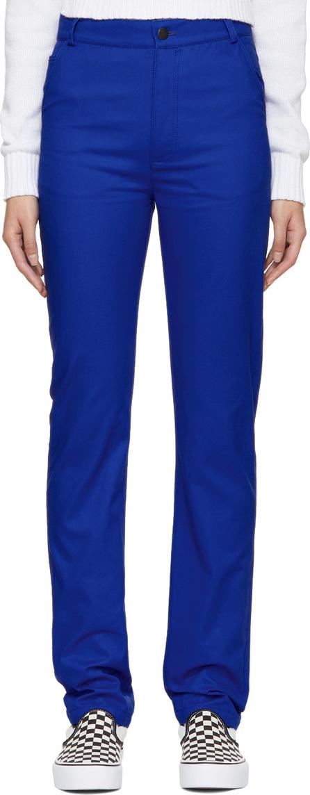 Anton Belinskiy Blue Twill Trousers